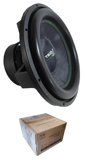 """Tezla Audio 15"""" 1.5K Series 2000W Dual 4 Ohm Subwoofer TZV1-15D41.5K"""