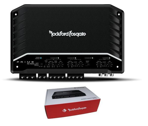 Rockford Fosgate Prime 750W 5-Channel Full Range Class D Amplifier R2-750X5