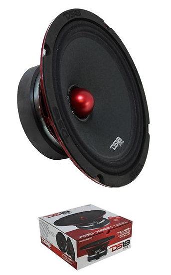 """DS18 PRO-X8BM 600W 8"""" Midrange Full Range Speakers Loudspeaker Bullet 8 Ohm"""
