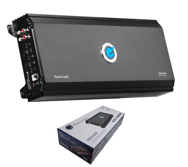 Planet Audio Monoblock 4000 Watts 1 Ohm Stable Class D Amplifier BBD4000