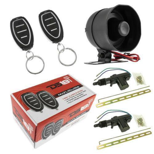Car Alarm Security System Shock Sensor, Keyless Entry 2 Door Locks DS18