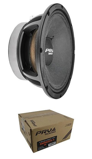 "PRV 8"" Midrange Loudspeaker 600 Watt 4 Ohm Car Audio 8MR600X-4"