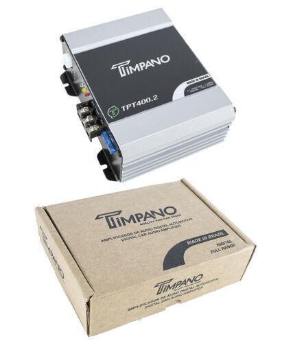 400W Digital Mini 2 Channel Amplifier 2 ohm Micro Car Audio Amp Timpano TPT400.2