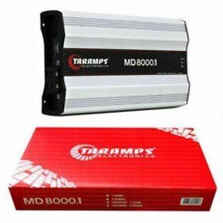 8000W 2 Ohm Class D Monoblock Amplifier Full Range Car Audio MD-8000.1