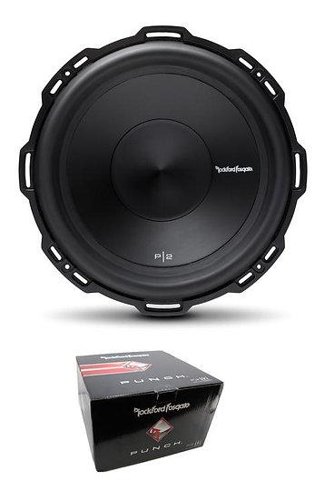 "Rockford Fosgate 10"" Punch 600 Watt Dual 4 Ohm Voice Coil SubWoofer P2D4-10"
