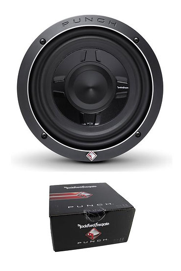 """Rockford Fosgate 8"""" Punch P3S Shallow 300W Dual 2 Ohm Subwoofer P3SD2-8"""