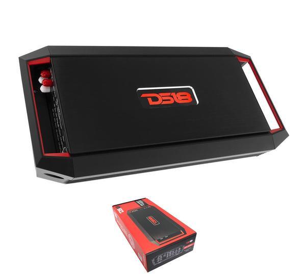 DS18 900 Watt 4 Channel Full Range Class A/B Amplifier w/ Bass Knob GEN-X900.4