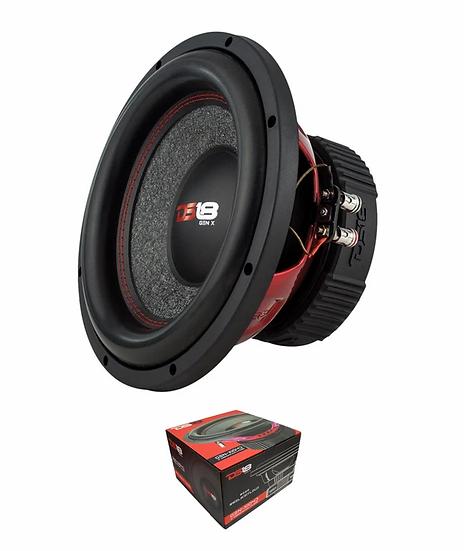 """DS18 10"""" 4 Ohm 800 Watt Dual Voice Coil Subwoofer GEN-X104D"""