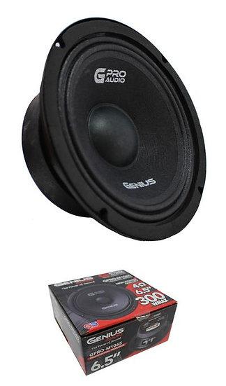 "6.5"" Midrange Midbass 4 Ohm 300W Pro Speaker Genius Audio GPRO-M1065"