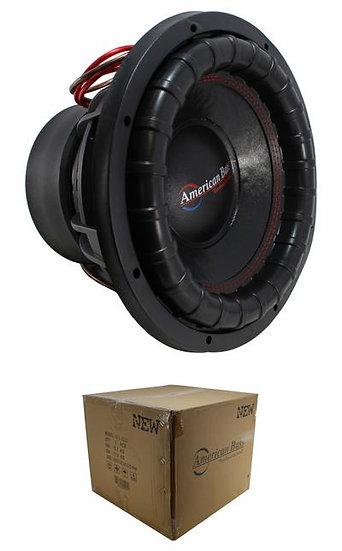 "12"" Subwoofer 2000W 3"" 2 Ohm DVC Pro Car Audio Bass American Bass XFL-12-D2"