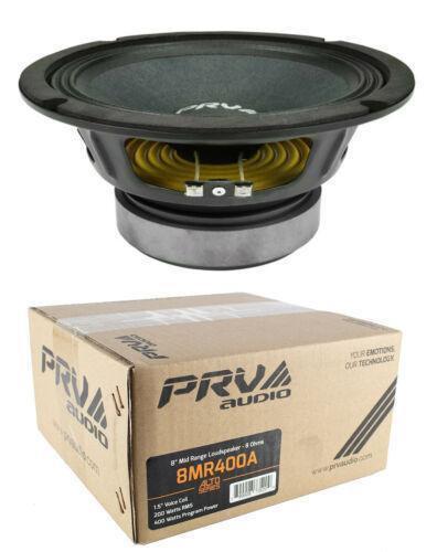 "Mid range 8"" Pro Audio Loud Speaker 8 Ohm 400 Watts PRV 8MR400A"