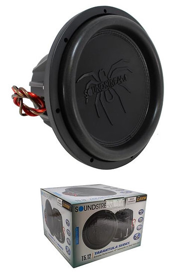 "T5.122 12"" 2000W Subwoofer Dual 2-ohm Voice Coil Pro Car Audio Bass"