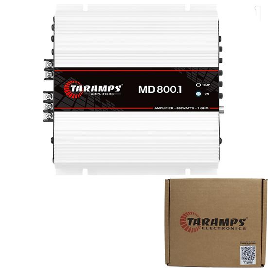 Taramps 800W RMS Class D Full Range Monoblock Amplifier Module MD 800.1