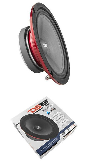 "DS18 PRO-SM8.2 8"" Marine Midrange Speaker Bike 2 Ohm -500W Waterproof"