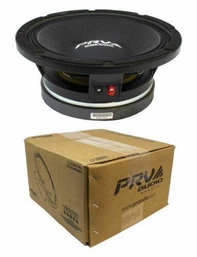 "PRV Audio 10MR1000X 10""Midrange Pro Audio Bass Speaker 1000W 8 Ohm"