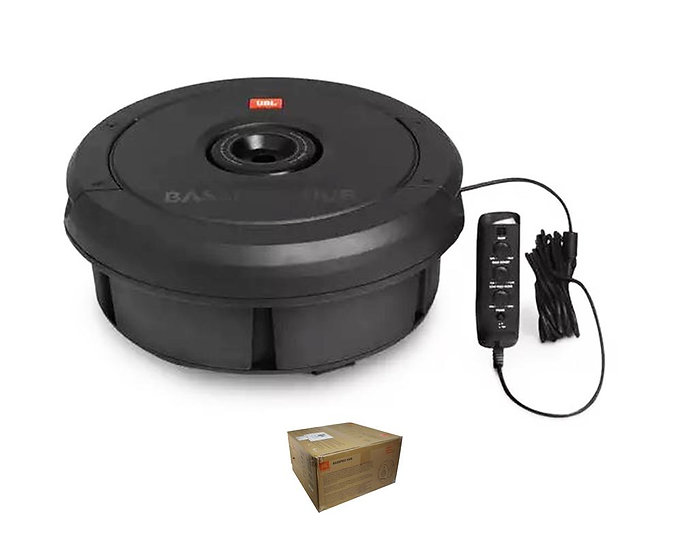 """JBL 11"""" 2 Ohm 300 Watt Tire Subwoofer w/ Built-in Amplifier and Remote Control"""