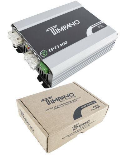 1400W Digital Micro Mono Block Amplifier 1 Ohm Mini Car Audio Amp Timpano TPT140