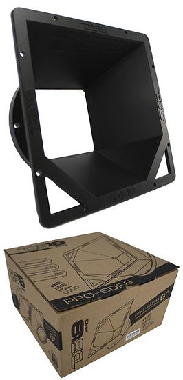 "1x DS18 PRO-SDF8 Square 8"" Mid Range Speaker Diffuser Horn"
