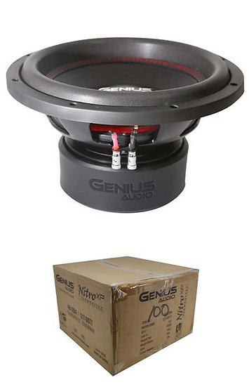 "Dual 4 Ohm Voice Coil 12"" Subwoofer 2000 Watts Bass Genius Audio N9-12D4"