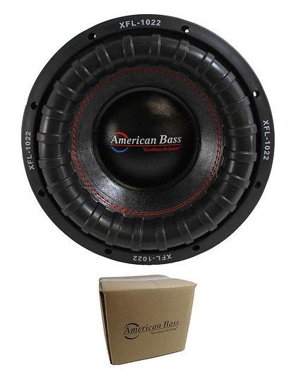 "American Bass 10"" XFL Series 2000W Dual 2 Ohm Car Subwoofer XFL-1022 XFL-10-D2"