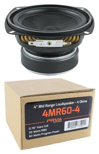 "4"" PRV Mid Range Loud Speaker 4 Ohm 60W Pro Car Audio 4MR60-4"