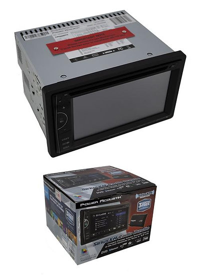 "PH-620SXMB 6.2"" LCD Double DIN DVD Player Bluetooth Sirius XM Tuner $70 Rebate"