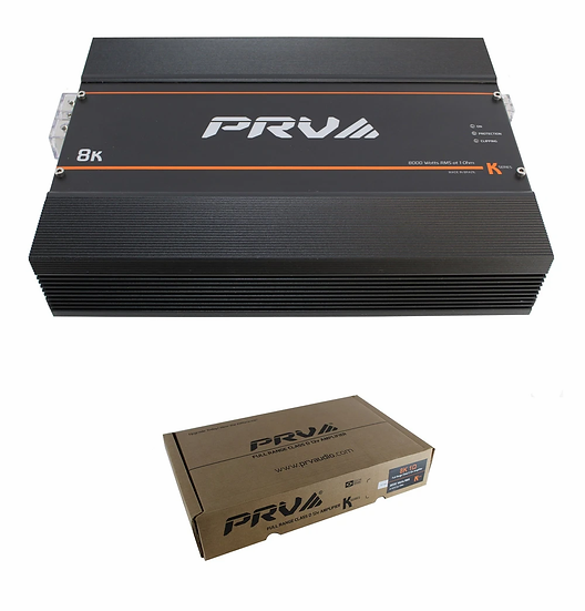 8000W Compact Full Range Monoblock Amplifier K Series PRV 8K 2 Ohm Stable