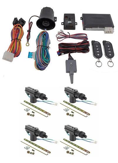 Car Alarm Anti Theft Keyless Entry + 4 Door Lock Remote Control Scytek Galaxy G5