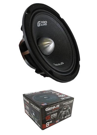 """Genius Audio GPRO-M068 8"""" 400W Midrange 4 Ohms Neodymium Car Audio Speaker"""