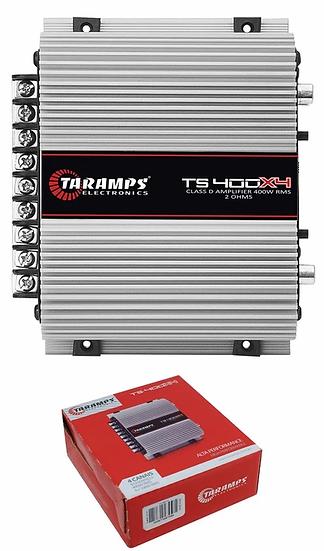 Taramps TS400X4 Full Range 2 Ohm 4 Channel 400W Class D Car Audio Amplifier