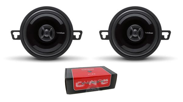 "Pair of Rockford Fosgate Punch 3.5"" 80W 4 Ohm 2-Way Full Range Speakers P132"