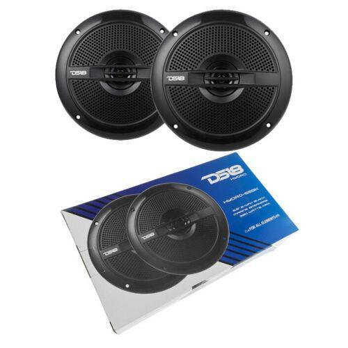 "DS18 Marine Speakers Power Sports 6.5"" Waterproof Black 760W"