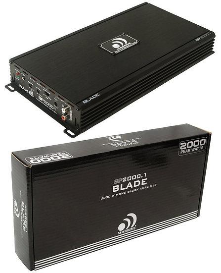 Massive Audio Amplifier Blade BP2000.1 Monoblock 2000W 1 Ohm