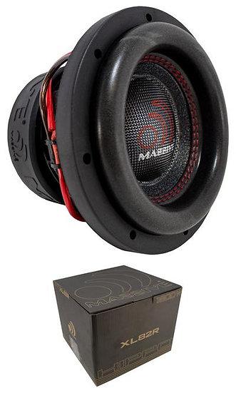 """Massive Audio HippoXL82R 8"""" Subwoofer 1800W Dual 2 Ohm Voice Coil Car Audio"""