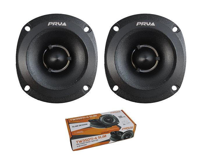 Pair of PRV Audio 240W 4 Ohm Pro Audio Titanium Super Tweeter TW350Ti-4 SLIM