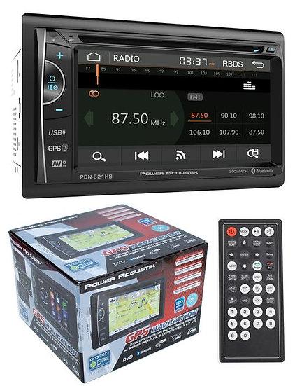 "6.2"" Bluetooth Radio CD/DVD MP3 USB Double Din Touch Screen Navigation MHL"