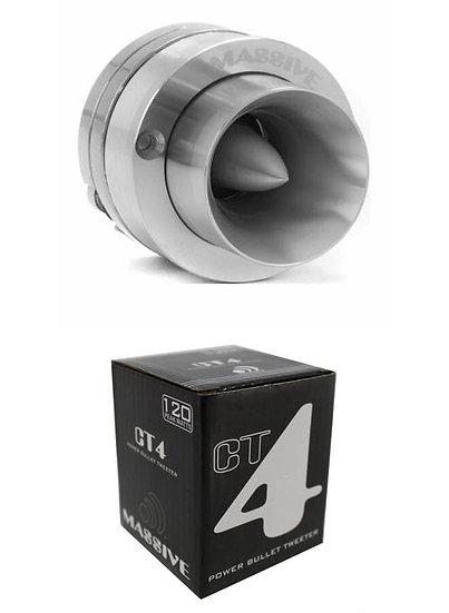 """1"""" Super Tweeter High Compression Neodymium Bullet Massive Audio CT4"""