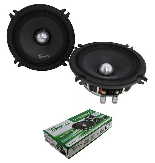 "5.25"" Neodymium Bullet Speaker Pair 200W 4 Ohm Pro Car Audio TPT-NEO5"