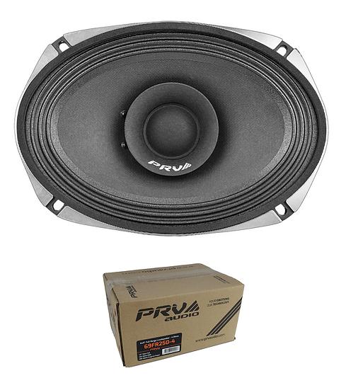 """PRV Audio 6"""" x 9"""" 250W 4 Ohm Full Range Loud Speaker 69FR250-4"""