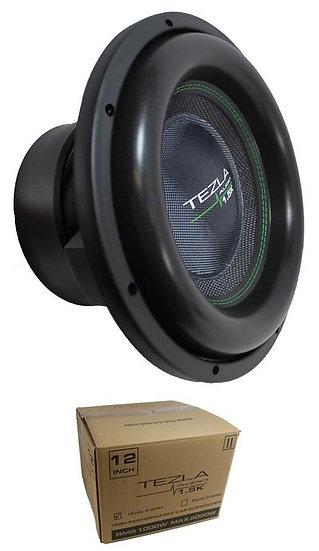"Tezla Audio 12"" 2000 Watts 1.5K Series Dual 4 Ohm Subwoofer TZV1-12D41.5K"