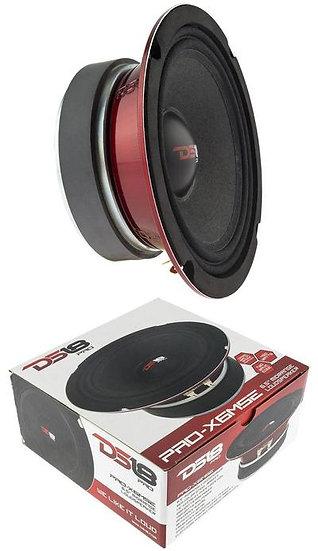 "DS18 PRO-X6MSE 450W 6.5"" Midrange Full Range Speakers Loud Sealed Back 8 Ohm"
