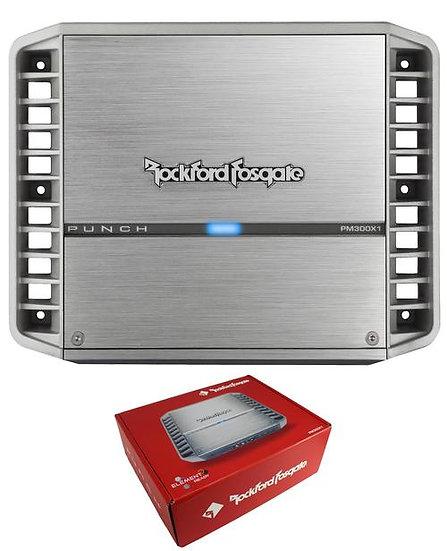 Rockford Fosgate Punch Marine 300W Full-Range Class A/B Mono Amplifier PM300X1