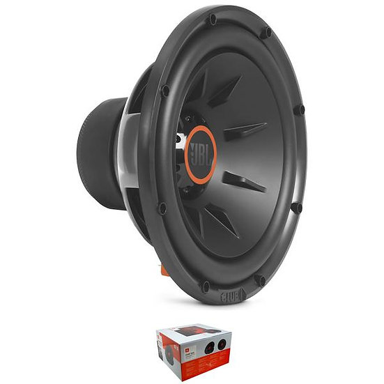 """JBL Club Series 12"""" 1100 Watts Selectable 2 or 4 Ohm Subwoofer CLUB 1224"""