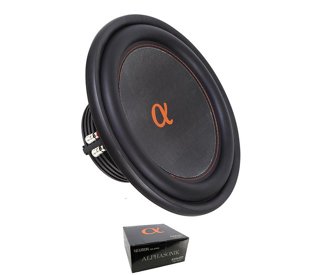 """12"""" 1500W 400 Series Subwoofer Dual 4 Ohm 2"""" Voice Coils NSW412"""