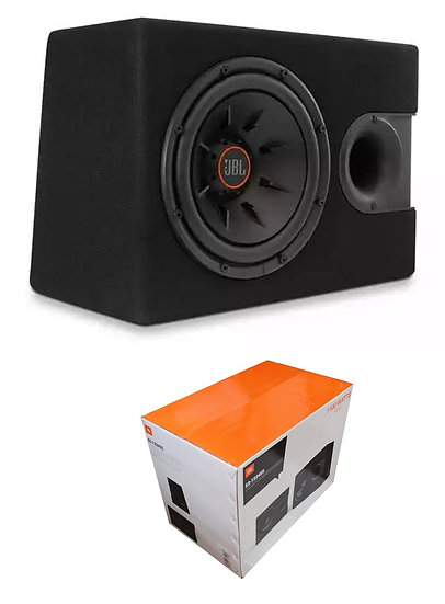 "JBL 12"" 1100W 2 or 4 Ohm Switchable Subwoofer Enclosure with Slipstream Port S2-"
