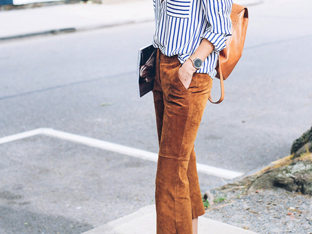 The Blue and White Striped Shirt- Three Ways!