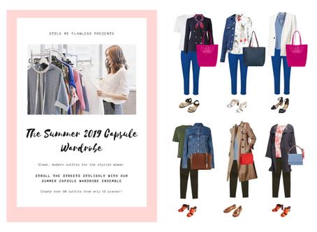The Summer 2019 Capsule Wardrobe Is Here!
