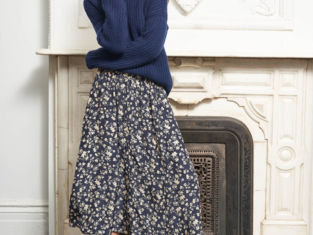 How To Wear A Long Skirt In Winter