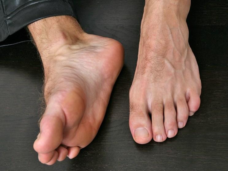 men's pedicure