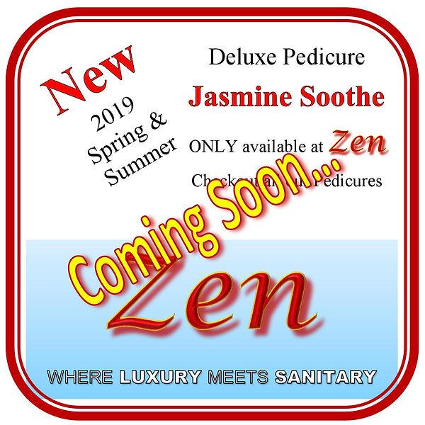 Pedicures - Jasmine Soothe - Coming Soon